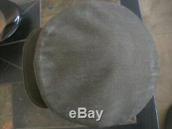 Soviet Russian WW2 Original Commanders/Commissars Field Visor Hat dated 1942