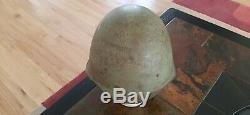 Soviet Russian WW2 Original M40 Helmet- 1941 Dated