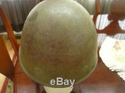 Soviet Russian WW2 Original M40 Helmet-Dated 1941