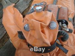 Soviet Russian diving rebreather from submarine Ida59+suit+mask (Not used)