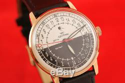 Space style SPUTNIK Rare Russian USSR 24 Hours watch Raketa 2623 DAY NIGHT NOS