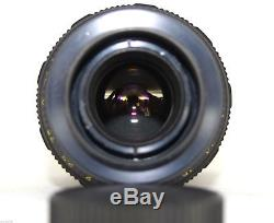 TAIR-11A 135mm f2.8 M42 Lens Russian Soviet 20 blades telephoto EXC