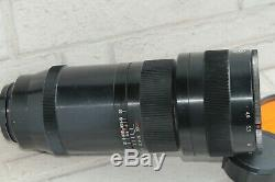TAIR-33 300mm F4.5 lens telephoto KIEV 88, Salut camera Soviet Russian USSR