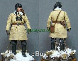 TULUP Bekesha Russian Officer Winter Sheepskin Coat Army USSR Bekes Jacket Warm