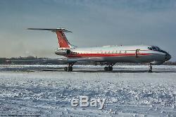 TU-134 Military Aircraft Full COCKPIT Pilot Soviet Russian Instrumental Panel