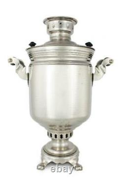 Traditional Russian Samovar On the wood original from USSR 5 Litres