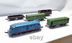 Train USSR (CCCP) Russian Railway VTG- Tin Toy'Pionerskaya Moskabel SOVIET