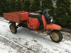Tula-Muravey TMZ Russian SCOOTER trike PICK UP USSR 200ccm 2 stroke 1981