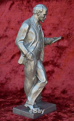 USSR Russian Soviet Communist Lider Vladimir LENIN bust figure statue H= 34 cm