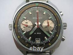 USSR SOVIET RUSSIAN STURMANSKIE POLJOT cal. 3133 Chronograph watch 23 jewels