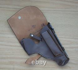 USSR Soviet Russian Red Army Makarov pistol belt holster cleaning rod & lanyard