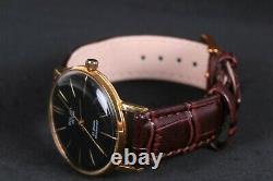 Ultra Slim POLJOT DE LUXE vintage USSR Russian watch 23 jewels 1MChZ mens watch