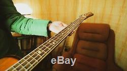 Ural 510L Bass Guitar Soviet USSR Russian Vintage Les Paul