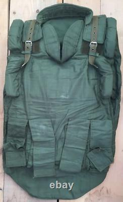Ussr Russian Nii Stali Bulletproof Body Armour 6b5-14 Steel Version Rare
