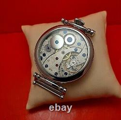 Vintage Molnia marriage USSR 3602 serviced Russian watch stainless steel 1980s