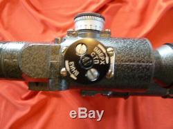 Vintage Russian USSR PSO 4-8x42 Sniper Scope POS-P, for SVD, 47, Saiga, SAR, etc