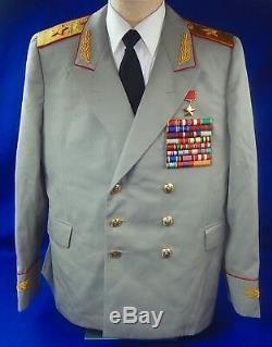Vintage Soviet Russian Russia USSR Post WW2 Marshal Tunic Jacket Coat Uniform