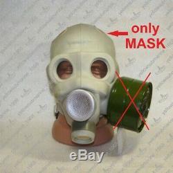 Vintage Soviet Russian USSR Military PMG Gas Mask (18 Nerekhta) SIZE 1,2,3,4