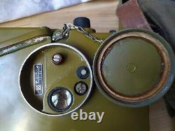 Vintage Soviet Russian USSR Military Radio R-126 Field Radio Operator Headphone