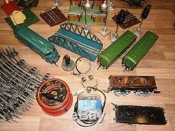 Vtg 1959 Rare Cccp Russian Moskabel Train Ussr Railway Railroad Engine Set Toy