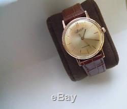 Vympel / Vimpel / Poljot / Luch solid 14k 583 gold Soviet Russian watch USSR