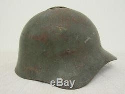WWII Russian M36 Helmet. Finnish Trophey