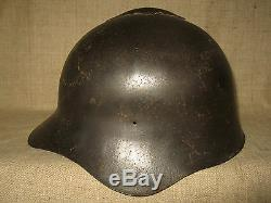 WWII Russian SCH36 Helmet. Without Paint