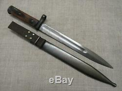 WWII Russian Soviet Red Army SVT-40 Knife Bayo. Early Type