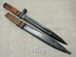 WWII Russian Soviet Red Army SVT-40 Knife Bayo. Early Type. RARE