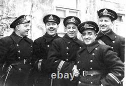 WW 2. Russian Soviet uniform set. Captain sailor. Coat, hat, bag, belt, T-shirt