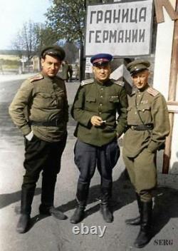 WW -2 Soviet Russian uniform Tunic jacket+Breeches+cap. Border guard KGB NKVD