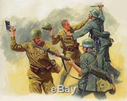 WW -2 Soviet Russian uniform set Tunic+Breeches+Hat+Belt+steel helmet Style 1943
