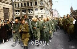 WW -2 Soviet Russian uniform set Tunic jacket+Breeches+Hat+Belt Style 1943