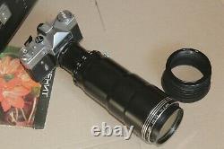Zenit ES Photo-Sniper Complete Set Vintage USSR Russian SLR 35mm Photogun Camera