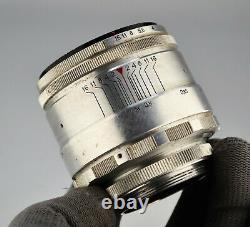 13-blades Silver Russie Urss Helios-44 Lens F2/58 M39 Monture (item 3)