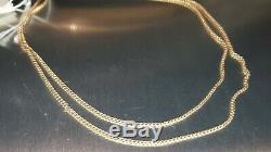 14k 583 Collier En Or Rose Soviétique De Russie 26 4,64 Gr