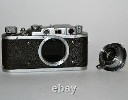 1939 Urss Russie Fed 1 Nkvd, S/n 109938 + Lentille Fed Tube Collapsible, F3.5/50