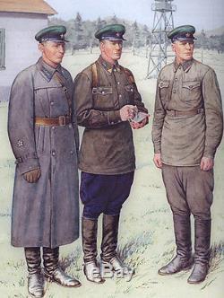 1940 Sovietique Sovietique Ww2 Nkvd Kgb Casquette De Visière De Branche