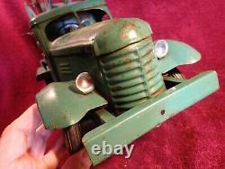 1950-s Vintage Metal Tin Toy Truck Zil Zis Zim Excavatrice Russie Soviétique Russe