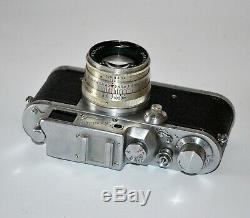 1954 Urss Rare Russe Zorki 3 Leica Camera + Copy Lentille Jupiter-8, F2 / 50 MM (2)