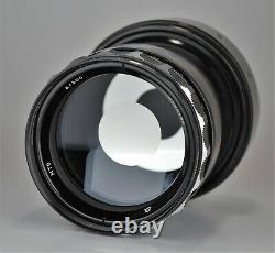 1970 Rare Russian Ussr Telephoto Reflex Mirror Mto F8/500 Lens, Objectif M39 (1)