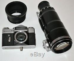 1973 Russe Urss Fs-12 Avec Tair-3phs F4.5 / 300 Lens, Photosniper Set (2)