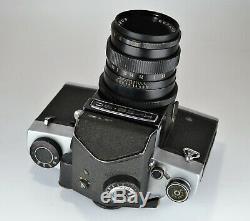 1981 Russe Urss Kiev-6s (kiev-6c) Ttl Medium Format Camera + Vega-12b Lentille (4)