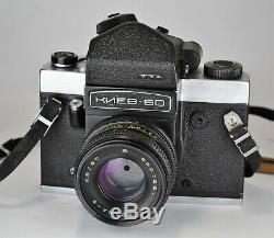 1987 Russie Urss Kiev-60 Ttl Format Moyen Caméra + MC Volna-3 Lens (3)