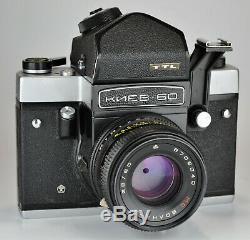1990 Russie Urss Kiev-60 Ttl Format Moyen Caméra + MC Volna-3 Lens (3)