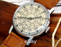 2209 En Cuir D'origine Soviétique Montre-bracelet Mécanique Soviétique Soviétique Laco Rare
