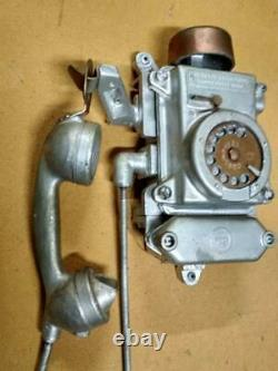 70ies Vintage Bunker Mine Wall Phone Ta-200 Union Soviétique Russie Urss 70s Tasha