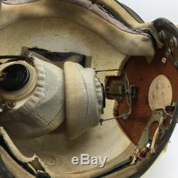 Air Force Soviétique Pilote Urss Casque De Collection Rare Old Russian Aircraft Cockpit