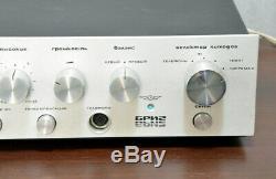 Amplificateur Vintage Soviétique Brig 001 Cccp De Russie