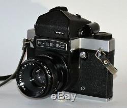 Appareil Photo Au Format Moyen Ttl Russe Kiev-6s (kiev-6c) + Vega-12b F2.8 / 90 (2)